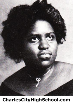 Frances Graham yearbook picture