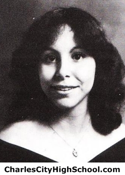 Cherie Holmes yearbook picture