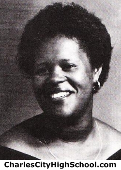 Wanda Jefferson yearbook picture