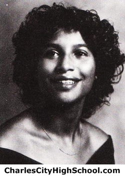 Cheryl Johnson yearbook picture