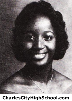 Genelda Johnson yearbook picture