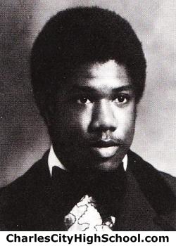 Anthony Jones yearbook picture