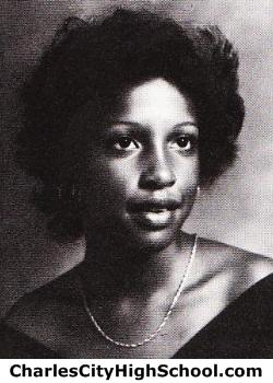 Glenda Jones yearbook picture