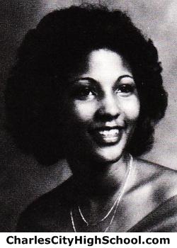 Monica Jones yearbook picture