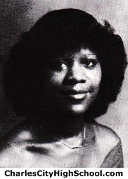 Phoebe Jones yearbook picture