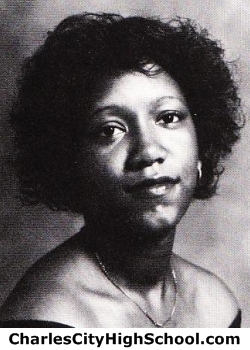 Shirley Simms yearbook picture