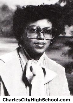 Joan Carter yearbook picture