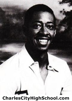 Larry Davis yearbook picture