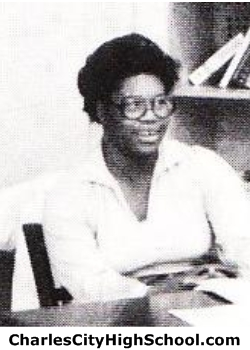 Mary Davis yearbook picture