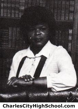 Sandra Fultz yearbook picture