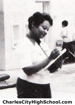 Sandra Johnson yearbook picture