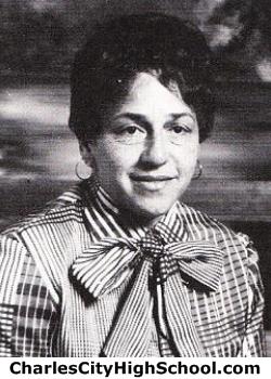 Arlene Jones yearbook picture