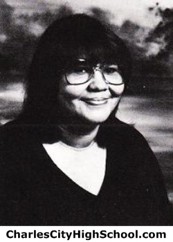 Lois Jones yearbook picture