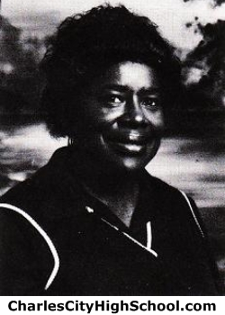 Louise Miles yearbook picture