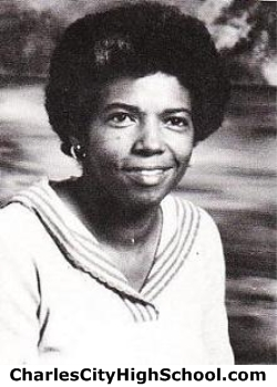 Alice Washington yearbook picture