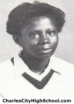 Gerlene Brooks yearbook picture