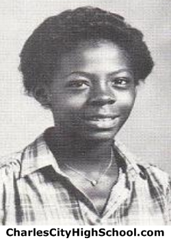 Janice Brooks yearbook picture