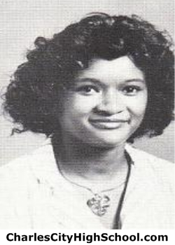 Loressa Brown yearbook picture