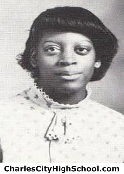 Suzette Brown yearbook picture