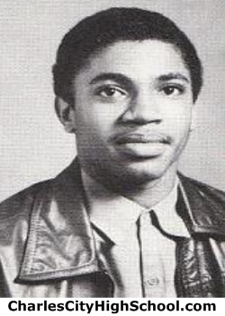 Eugene Calhoun yearbook picture