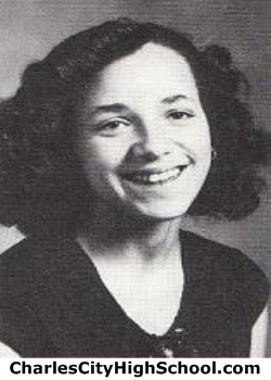 Jewel Cotman yearbook picture