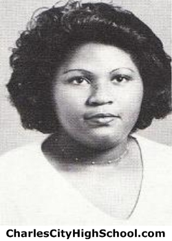Senorita Cotman yearbook picture