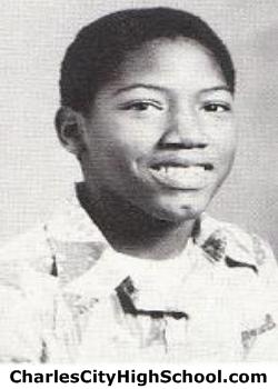 Herbert Harris yearbook picture