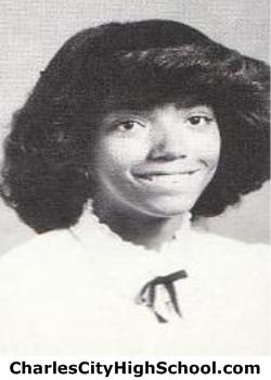 Monica Hillard yearbook picture