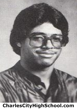 Darrin Holmes yearbook picture