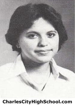 Amy Jones yearbook picture