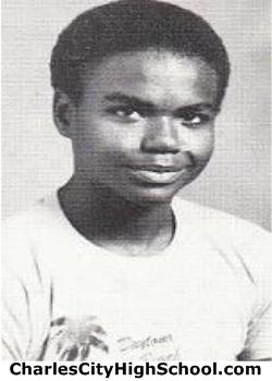 Darus Jones yearbook picture