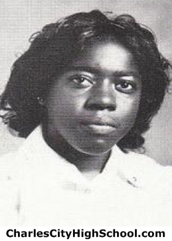 Frannie Lemon yearbook picture