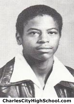 Alonzo Logan yearbook picture
