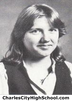 Lisa Overman yearbook picture