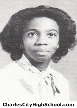 Charlene Randolph yearbook picture