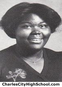 Laverne Russell yearbook picture