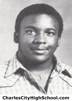 Roy Spruell yearbook picture