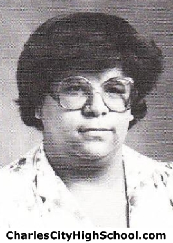 Carla Adkins yearbook picture