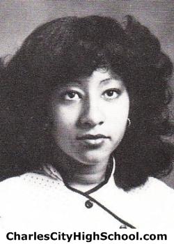 Deborah Adkins yearbook picture