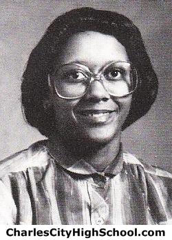Deneen Adkins yearbook picture