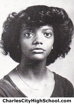 Regina Black yearbook picture