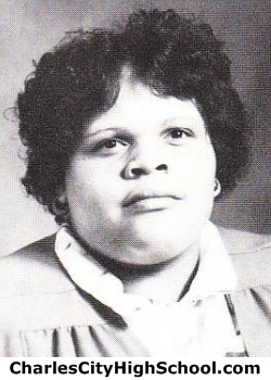 Rhelia Brown yearbook picture