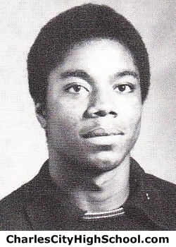 Vence Brown yearbook picture