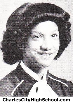 Camille Burrell yearbook picture