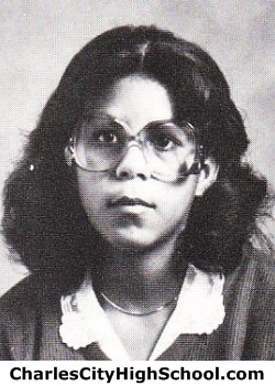 Daphne Canaday yearbook picture