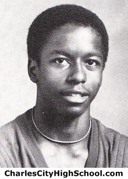 David Charity yearbook picture