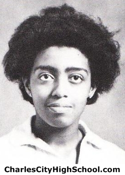 Connie Christian yearbook picture