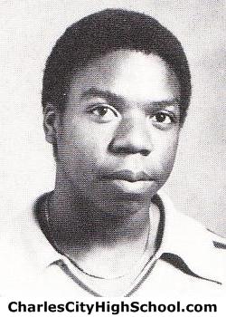 Howard Cotman yearbook picture