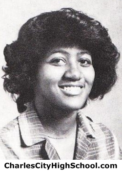 Monica Cotman yearbook picture