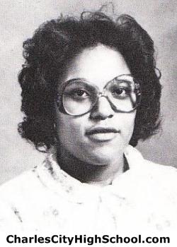Wanda Cotman yearbook picture